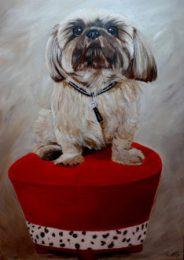Bijou, 50x70 cm, Acryl auf Leinwand